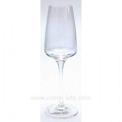 Flute a champagne Delice par 6 Service de verre CL20010135, reference CL20010135