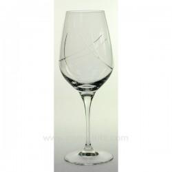 Verre a eau Siroco par 6 Service de verre CL20010155, reference CL20010155