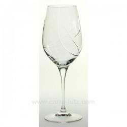 Verre a vin Siroco par 6 Service de verre CL20010156, reference CL20010156