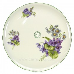 Plat a tarteviolettes Arts de la table CL21010009, reference CL21010009