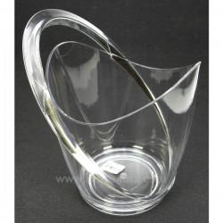 Seau a champagne acrylique Le vin CL21020018, reference CL21020018