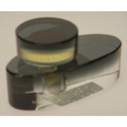 Flacon de parfum couleur noir cristal de paris, reference CL21040011