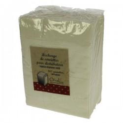 Recharge de 100 serviettes pour distributeur Orval, reference CL23000041