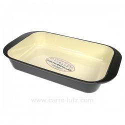 Plat fonte rectangulaire 36 cm La cuisine CL25001015, reference CL25001015