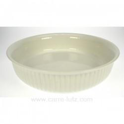 Plat rond 24 cm BIANCO La cuisine CL25004001, reference CL25004001