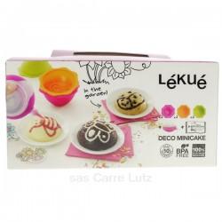 Kit mini cake décor jardin en silicone Lékué, reference CL27000034