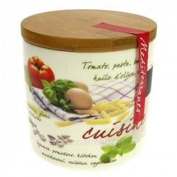 Pot à épice porcelaine décorée 11,5 cm La cuisine CL29000072, reference CL29000072