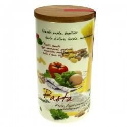 Pot à épice porcelaine décorée 21 cm La cuisine CL29000074, reference CL29000074