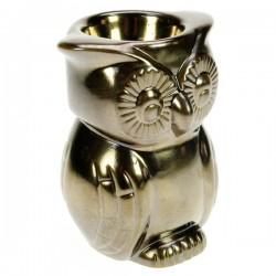 Brule parfum céramique hibou bronze Drake, reference CL30000225