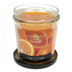 Bougie parfumée confiture d' orange Point à la ligne, reference CL31000039