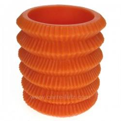 Lampion orange rechargeable Point à la ligne, reference CL31000113