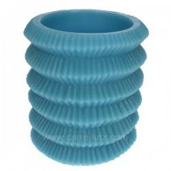 Lampion turquoise rechargeable Point à la ligne, reference CL31000115