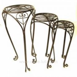lot de 3 selettes metal vieill Cadeaux - Décoration CL45000098, reference CL45000098