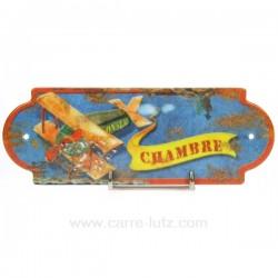 PLAQUE DE PORTE CHAMBRE Cadeaux - Décoration CL46300001, reference CL46300001