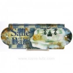PLAQUE DE PORTE SALLE DE BAIN Cadeaux - Décoration CL46300005, reference CL46300005