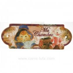 PLAQUE DE PORTE CHAMBRE Cadeaux - Décoration CL46300008, reference CL46300008