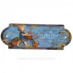 PLAQUE DE PORTE CHAMBRE Cadeaux - Décoration CL46300009, reference CL46300009