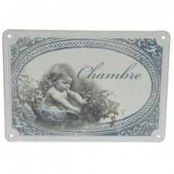 Plaque de porte chambre garcon Cadeaux - Décoration CL46300100, reference CL46300100