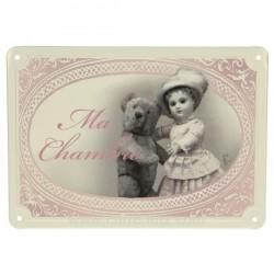 Plaque porte chambre fille/our Cadeaux - Décoration CL46300102, reference CL46300102