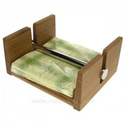 Porte serviettes bambou Arts de la table CL46301012, reference CL46301012