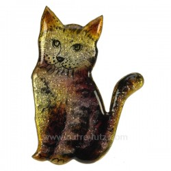 Chat emaux de limoges Emaux de Limoges CL47100060, reference CL47100060