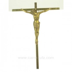 CHRIST BRONZE CROIX MeTAL Cadeaux - Décoration CL48200102, reference CL48200102