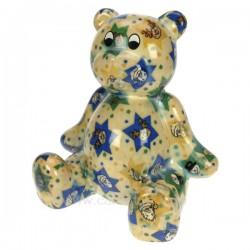 Tirelire ours bleu Cadeaux - Décoration CL49000004, reference CL49000004