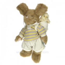 Lapin Peter & Peeper Cadeaux - Décoration CL49001056, reference CL49001056