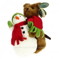 Ours Joey & Snowy Cadeaux - Décoration CL49001090, reference CL49001090