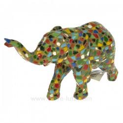 Elephant mosaique B Cadeaux - Décoration CL49900027, reference CL49900027