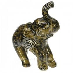 Elephant PM debout leopard Cadeaux - Décoration CL49900039, reference CL49900039