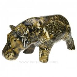 Hippopotame leopard Cadeaux - Décoration CL49990032, reference CL49990032