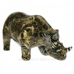 Rhinoceroce leopard Cadeaux - Décoration CL49990033, reference CL49990033