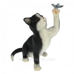 Chat papillon noir et blanc Léonardo Collection CL50001039, reference CL50001039