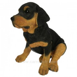 chiot Rottweiler assis Collection Country Artists CL50011024, reference CL50011024