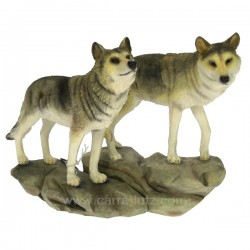 Couple de loup Léonardo Collection CL50012005, reference CL50012005