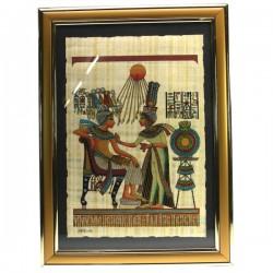 Papyrus avec encadrement PM Thème Egypte CL50031012, reference CL50031012