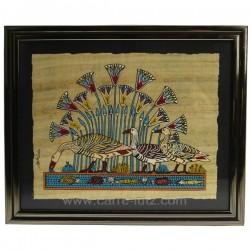 Papyrus avec encadrement Thème Egypte CL50031030, reference CL50031030