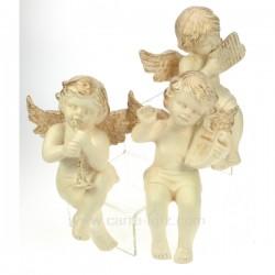 Ange musicien etagere par 3 Cadeaux - Décoration CL50060026, reference CL50060026
