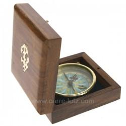 BOUSSOLE DANS COFFRET Cadeaux - Décoration CL50070013, reference CL50070013
