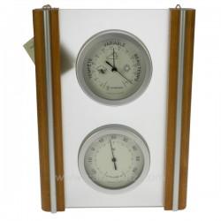 Barometre thermometre verre Cadeaux - Décoration CL50110014, reference CL50110014