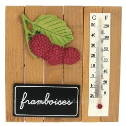 Thermometre framboise Cadeaux - Décoration CL50110030, reference CL50110030