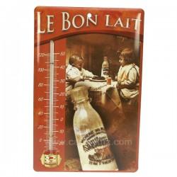 Thermometre email le bon lait Cadeaux - Décoration CL50110032, reference CL50110032