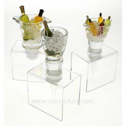 Bouchon acrylique Le vin CL50140047, reference CL50140047