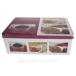 Boite a sucre metal Breakfast La cuisine CL50150670, reference CL50150670