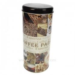 Boite dosettes cafe Patchwork La cuisine CL50150671, reference CL50150671