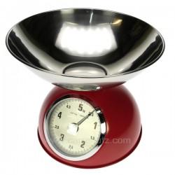 Balance cuisine 5 kg rouge La cuisine CL50156004, reference CL50156004