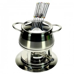Service à fondue inox, reference CL50157006