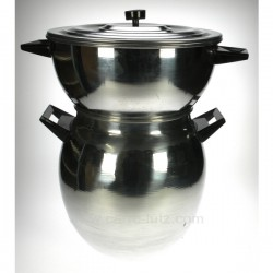 Couscoussier alu 17 litres Batterie de cuisine diverse CL50158001, reference CL50158001