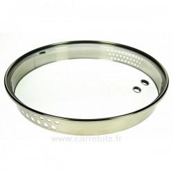 Couvercle seul diamètre 16 cm Virgo Bergoff, reference CL50159112